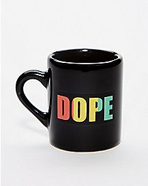 Dope Mug Shot Glass - 2 oz.
