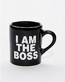 I Am The Boss Mug Shot Glass - 2 oz.