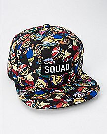 Squad Rocket Power Snapback Hat - Nickelodeon
