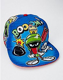 Airbrush Marvin the Martian Snapback Hat - Looney Tunes