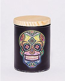Sugar Skull Storage Jar - 3 oz.