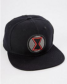 Black Widow Snapback Hat - Marvel