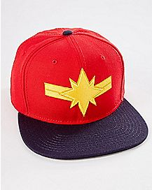 Captain Marvel Snapback Hat - Marvel