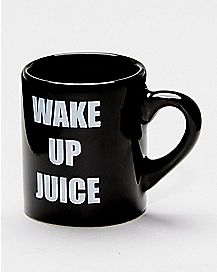 Wake Up Juice Shot Glass