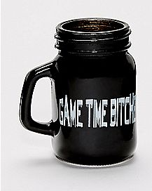 Game Time Bitches Shot Glass