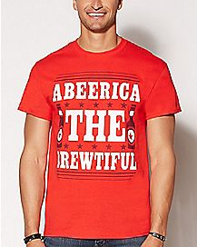 Abeerica the Brewtiful T Shirt