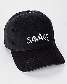 Black Savage Dad Hat