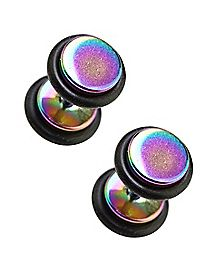 Rainbow Fake Plugs - 18 Gauge