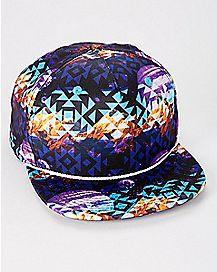 Purple Zion Snapback Hat