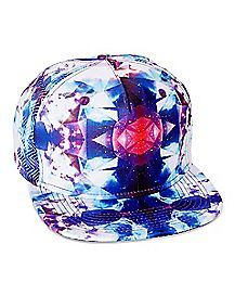 Blue and Purple Snapback Hat