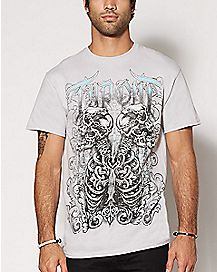 Skulls Tapout T Shirt