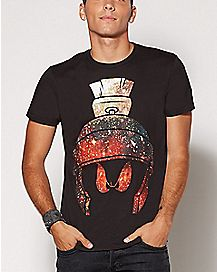 Galaxy Marvin The Martian T Shirt - Looney Tunes
