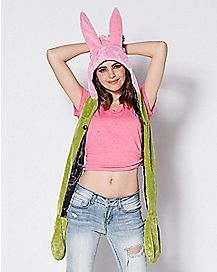 3D Ears Louise Snood Hat - Bob's Burgers