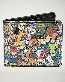 '90's Nickelodeon Bifold Wallet