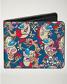 Ren and Stimpy Bifold Wallet