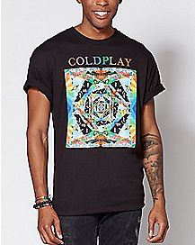 Kaleidoscope Coldplay T Shirt