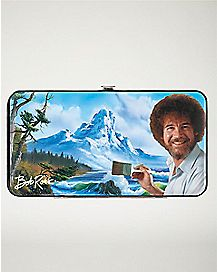 Bob Ross Hinged Wallet