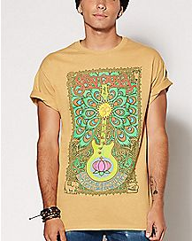 Lotus Guitar Santana T Shirt