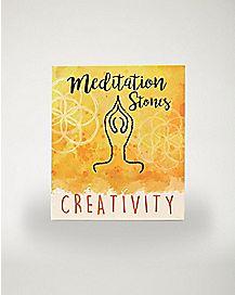 Creativity Meditation Stones
