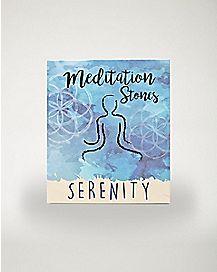 Serenity Meditation Stones