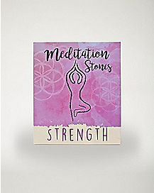 Strength Meditation Stones