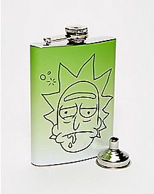 Rick Flask 8 oz. - Rick and Morty