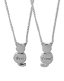 Cat Friendship Necklaces