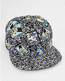 Composition Hey Arnold Snapback Hat - Nickelodeon