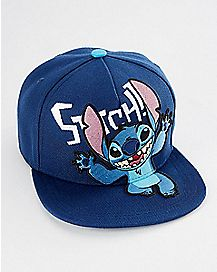 Stitch Snapback Hat - Disney