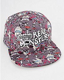 Aaahh Real Monsters Snapback Hat - Nickelodeon