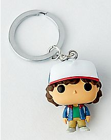 Pop Dustin Stranger Things Keychain