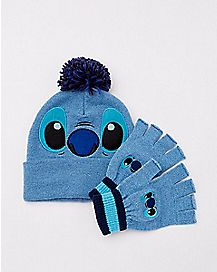 Stitch Hat and Glove Set - Disney