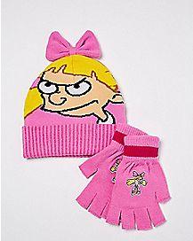 Helga Hat and Glove Set - Hey Arnold!