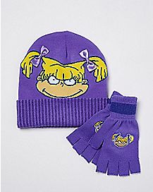 Angelica Hat and Glove Set - Rugrats