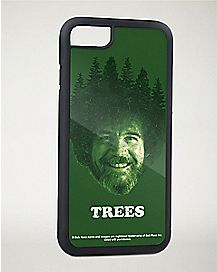 Trees Bob Ross Iphone 7 Case