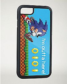 8 Bit Sonic iPhone 7 Case
