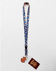 Reversible Hogwarts Lanyard - Harry Potter