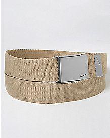 Khaki Nike Belt