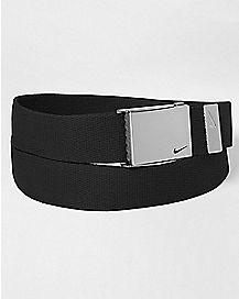 Black Nike Belt