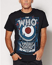 Pinball Wizard The Who T Shirt