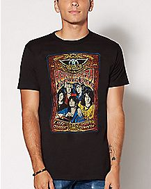 Concert Poster Aerosmith T Shirt
