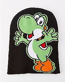 Yoshi Nintendo Beanie Hat
