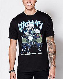 Kakashi Naruto T Shirt