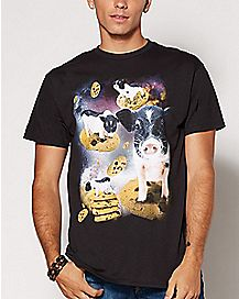 Pigs and Cookies T Shirt
