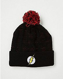 Pom The Flash Beanie Hat - DC Comics