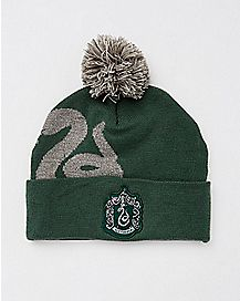 Pom Slytherin Beanie Hat - Harry Potter