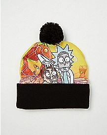 Pom Rick And Morty Beanie Hat