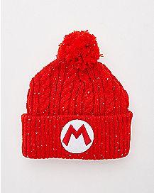 Mario Beanie Hat - Nintendo