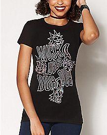 Wubba Lubba Dub-Dub T Shirt - Rick & Morty