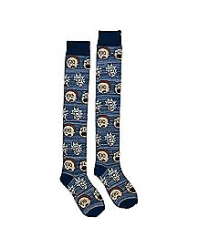 Rick and Morty Over the Knee Socks